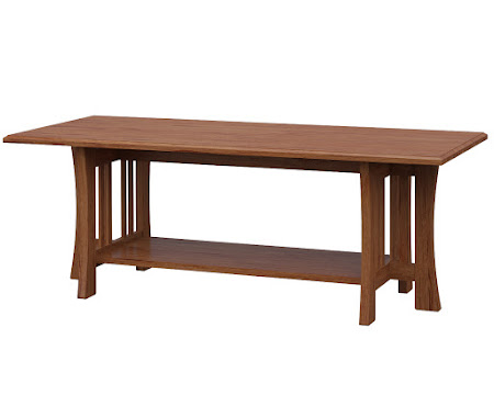 Craftsman Coffee Table In Vermont Maple