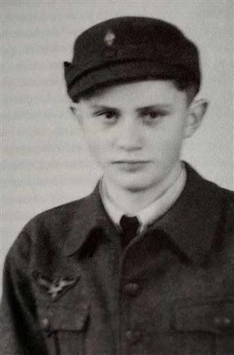 Josehp Ratzinger. El santo Benedicto XVI en las juventudes hitlerianas