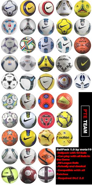 Ballpack 1.0 - PES 2012