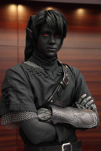 Fantastic Dark Link Cosplay
