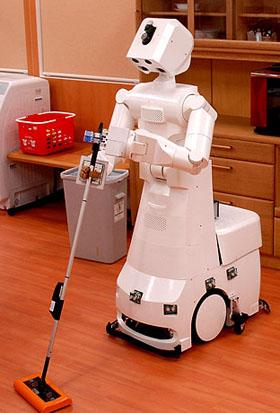 Robots para el uso domestico informacion - Trabajo para limpiar casas ...