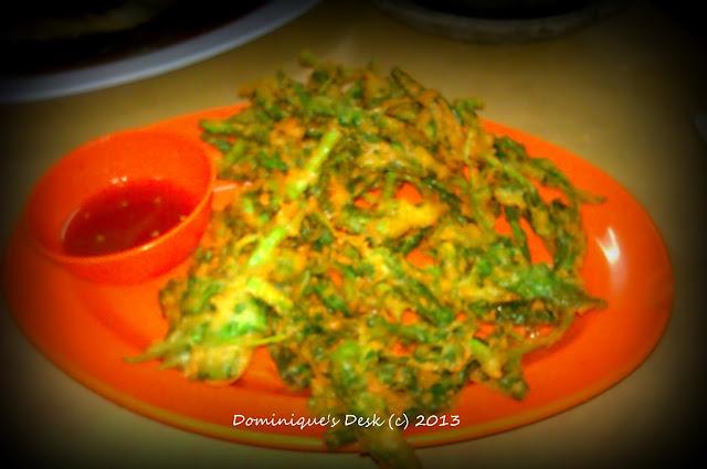 Tempura style vegetables
