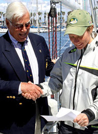 J/105 and J/22 sailor Nicole Breault wins qualifier for Ficker Cup Trophy match race