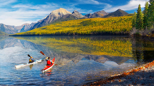 Scenic Travels, Bowman Lake, Glacier Park, Montana.jpg