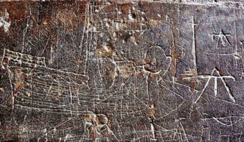 Deciphering Medieval Graffiti Scrawled On Cathedral Walls