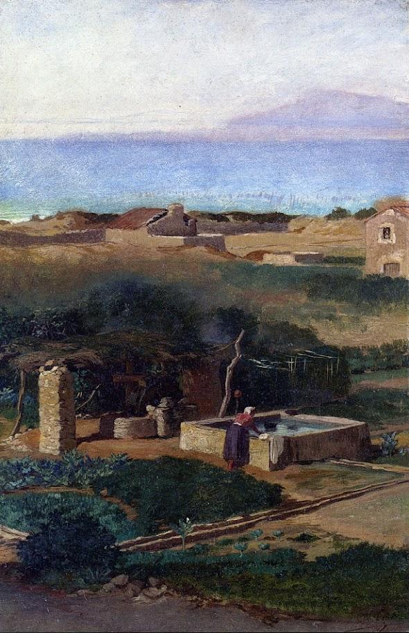 Elihu Vedder - Bordighera, Italy