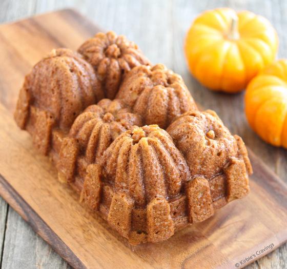 photo of a the pumpkin bread