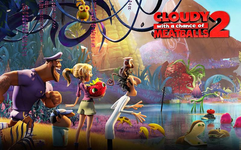 Βρέχει Κεφτέδες 2 Cloudy With a Chance of Meatballs 2 Wallpaper