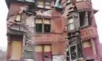 انهيار منزل بداخلة شاب