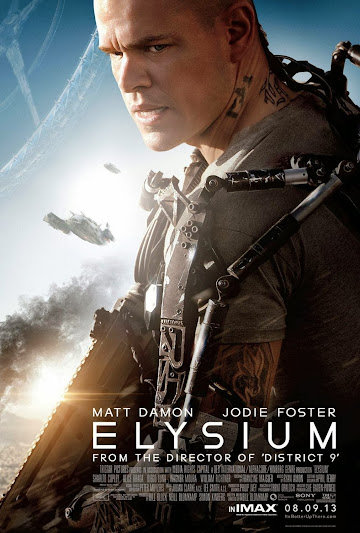 Elysium poster movie