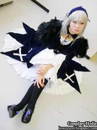 rozen maiden cosplay - suigintou