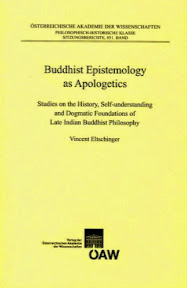 [Eltschinger: Buddhist Epistemology as Apologetics, 2014]