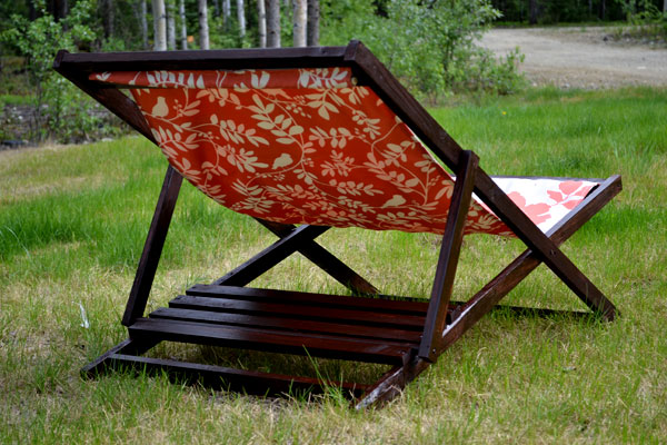 Ana White Wood Folding Sling Chair Deck Or Beach Size Diy Projects