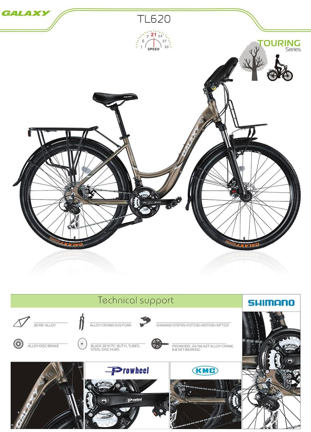 xe dap the thao nu GALAXY TL620, xe dap the thao, xe dap trinx, xe đạp thể thao chính hãng, xe dap asama, tl620