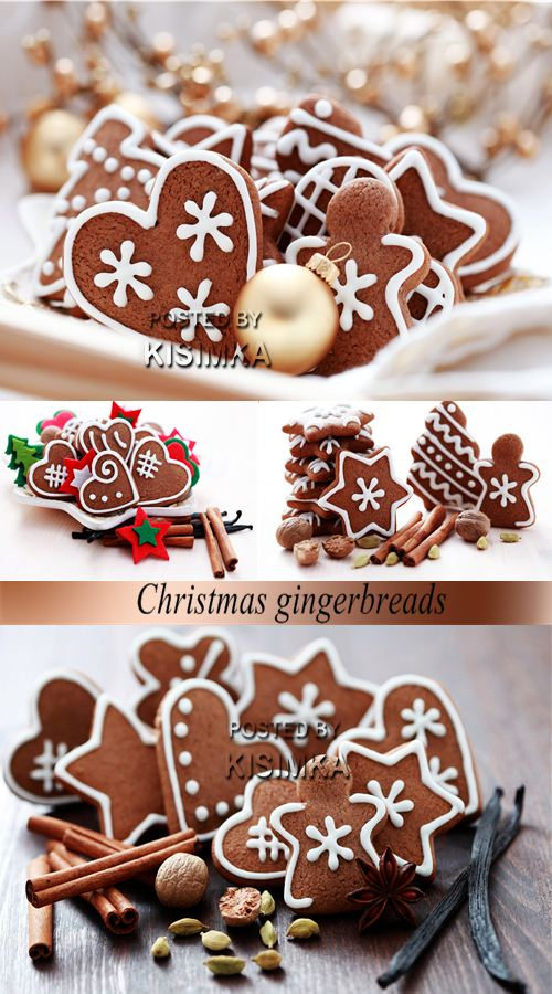 Stock Photo: Christmas gingerbreads