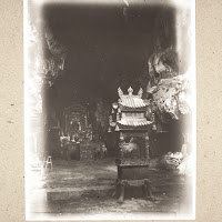A Very Old Iron Stand For Incense In The Stalactite Grotto Near The  Buddhist Monastery Situated