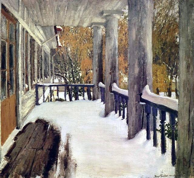 Igor Grabar - September Snow