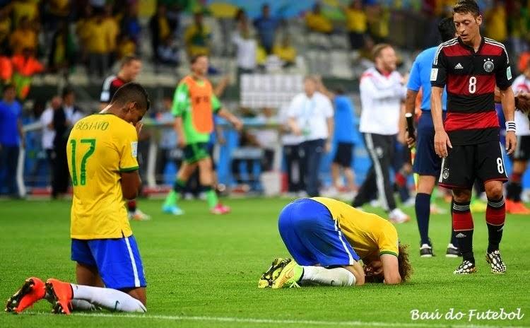 Baú da Seleção Brasileira  08 07 2014 - Brasil 1 x 7 Alemanha c3fdf859c98b0