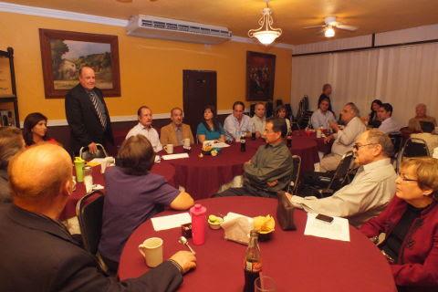 Reunión del Consejo de la Historia y Cultura Sabinas Hidalgo de diciembre de 2012