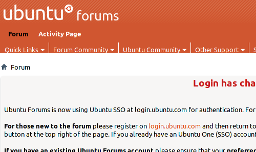 Ubuntu Forums vuelve a la actividad tras el ataque