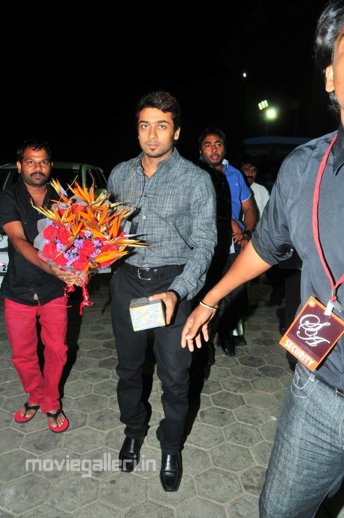 Actor Surya At Allu Arjun Marriage Pictures New Movie