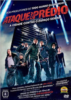 Resenha e cartaz sobre o filme Ataque ao Prédio (Attack the Block), de Joe Cornish
