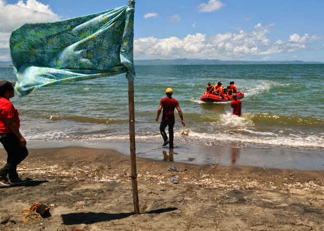 Storm surge drill: Rescue mission simulation