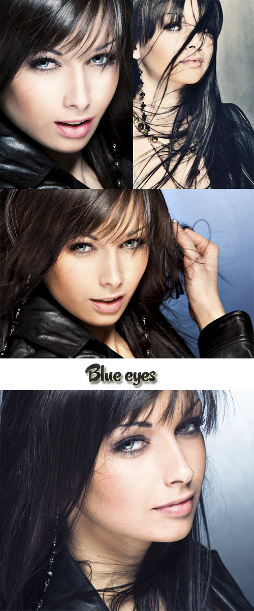 Stock Photo: Blue eyes