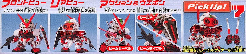 SD Gundam Astray Red Frame BB-248 dành riêng cho những ai yêu mến nó