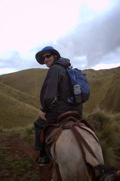 Brian riding