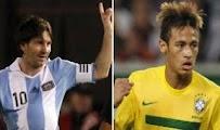 Argentina Brasil online Amistoso 9 junio