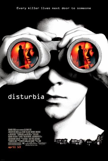 Poster Of Disturbia (2007) Full Movie Hindi Dubbed Free Download Watch Online At Alldownloads4u.Com