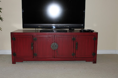 We Bought This From Pier 1 For $500 Plus Tax. It Came Already Assembled, So  Itu0027s A Solid Piece. Very Nice Item, The Red Accent Is Just Great.