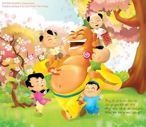 Những câu ca dao, đồng dao, tục ngữ, thành ngữ VN mang màu sắc Phật Giáo