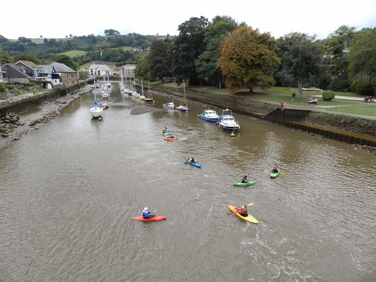 River Dart Totnes England