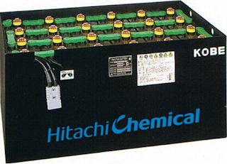 Bình điện xe nâng Hitachi Nhật Bản 48V 320AH