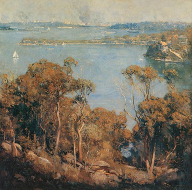 Arthur Streeton - Sydney Harbour