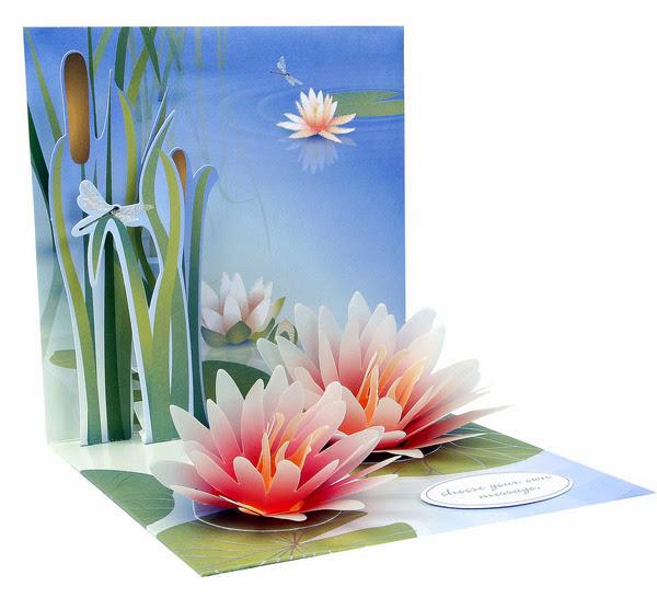 Открытки из бумаги лилиями, картинки про