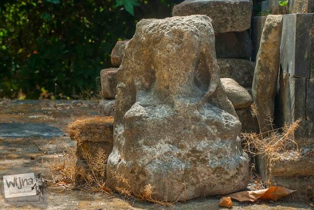 arca dewa hindu yang ada di situs petilasan ki ageng mangir wonoboyo