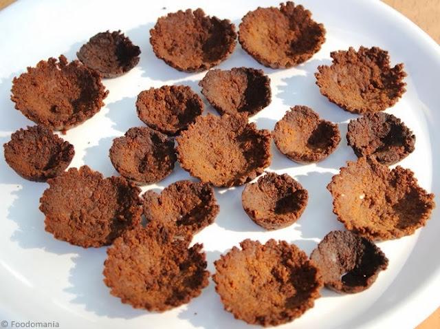 cake crumb tart shell