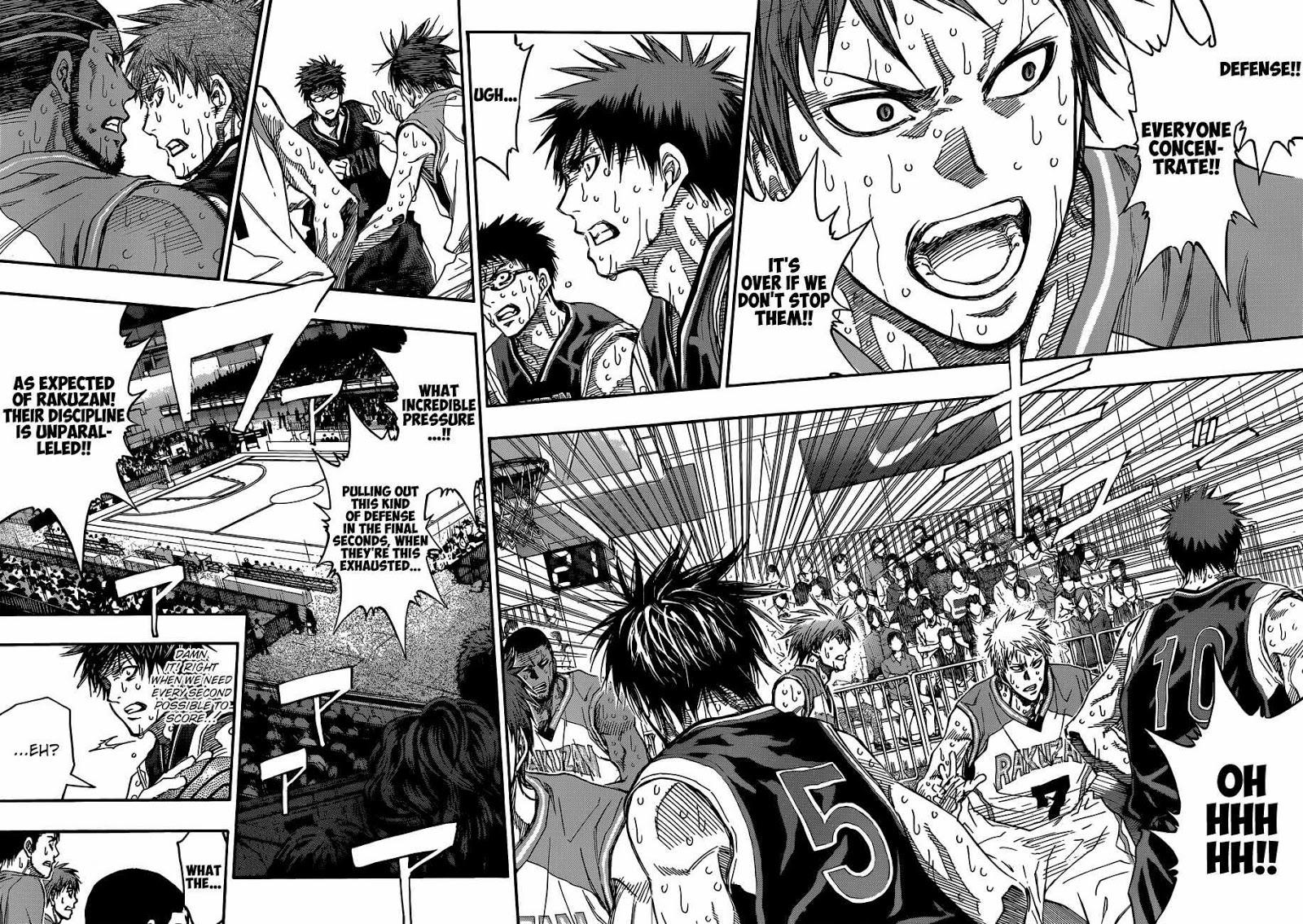 Kuroko no Basket Manga Chapter 272 - Image 02-03