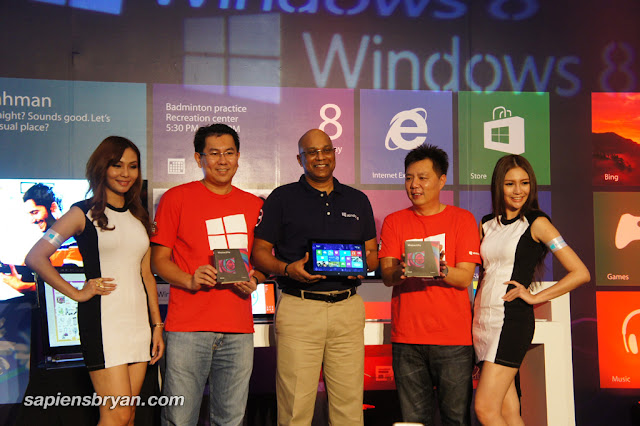 Microsoft Windows 8 Launch In Malaysia