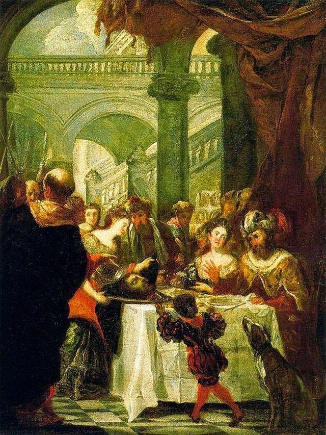 Juan Carreño de Miranda - Irod's feast