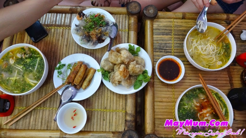 Dia chi quan Chao banh canh banh bot loc Quang Binh o Ha Noi