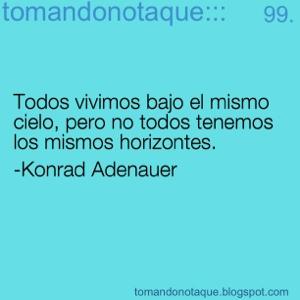 """""""frases celebres de destino por Konrad Adenauer"""""""