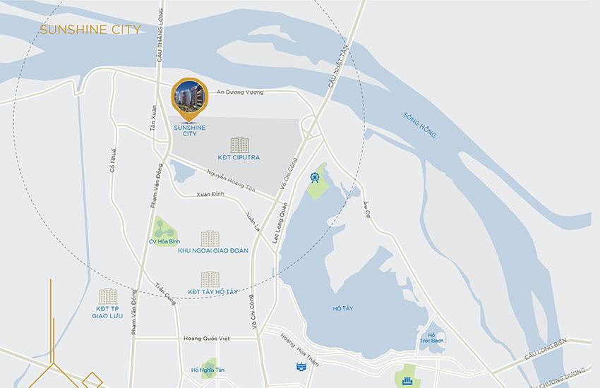 Chung cư Sunshine City Ciputra Tây Hồ