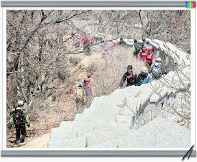 북한산 (칼바위능선-진달래능선)