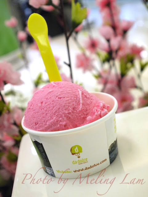 沙田新城市粉色禮賞 櫻花 婦女節 粉紅色 sina weibo new town plaza ice-cream pudding sakura da dolce