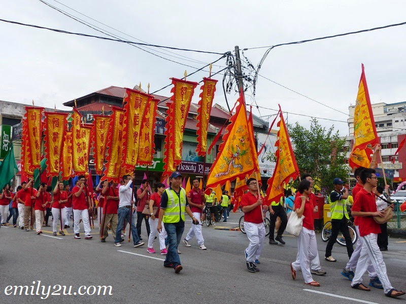 Goddess Mazu procession