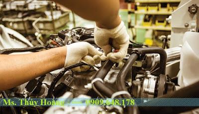 Sữa chữa và bảo trì xe nâng hàng